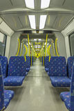 Inside of a train Royalty Free Stock Image