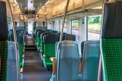 Inside train cabin stock photos
