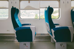 Inside the train Royalty Free Stock Photography