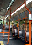 Inside a tram Royalty Free Stock Photos