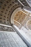 Inside of The Triumphal Arch Stock Images