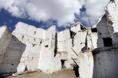Inside Tsemo monastery Royalty Free Stock Image