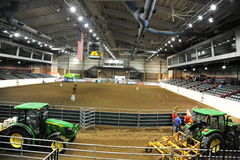 Inside the Tunica Arena and Exposition Center, Tunica Mississippi. Stock Photo