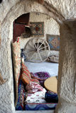 Inside turkish house. Old turkish house in Gereme, Cappadocia Royalty Free Stock Images