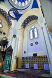 Inside of Turkish mosque Stock Photo