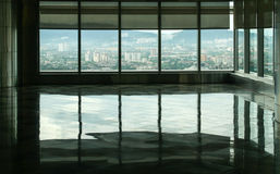 Inside twin towers in Kuala Lumpur, malaysia Royalty Free Stock Photography