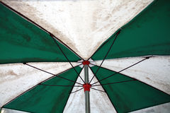 Inside umbrella Stock Photo