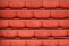 Inside under the orange tile roof Royalty Free Stock Photos