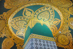 Inside Uppatasanti Pagoda Royalty Free Stock Photo