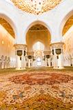 Inside uroczysty meczet zdjęcia stock