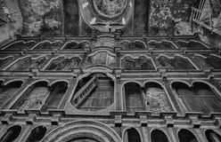 Inside the Uspensky Cathedral in the city of Rostov Velikiy Stock Photo
