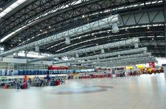 Inside Vaclav Havel lotnisko Praga Obrazy Stock