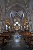 Inside Valencia Cathedral Stock Photography