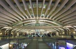 Inside Vasco da Gama shopping center in Lisbon Royalty Free Stock Images
