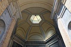 Inside of Vatican museum. Ceiling in Vatican museum Stock Photography