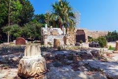 Inside Venetian Kyrenia Castle (16th c.), North Cyprus Royalty Free Stock Photography