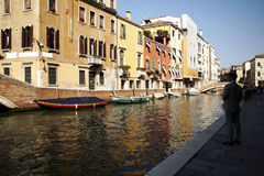 Inside of Venice Stock Photo