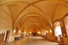 Inside the Vianden castle, Luxembourg, Europe Royalty Free Stock Photo