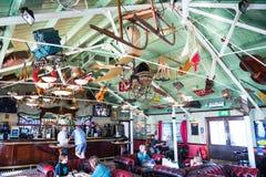Inside Victoria's Bar on Brighton Pier Stock Image