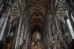 Inside Vienna Cathedral,Austria Stock Photos