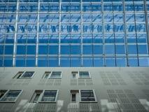 Inside view of architecture in oslo university hospital rikshospitalet stock photos