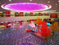 Inside view of Beijing Shopping Mall Royalty Free Stock Photography