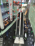 Inside view of the Bitexco Shopping Mall in Saigon, Vietnam Stock Photo
