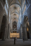 Inside view of the Cathedral in Avila Royalty Free Stock Photos