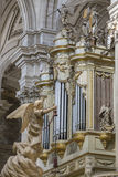 Inside view of the Cathedral in Jaen, also called Assumption of Stock Images