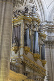 Inside view of the Cathedral in Jaen, also called Assumption of Royalty Free Stock Image