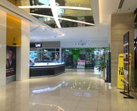 Inside view of Diamond Shopping Mall in Saigon, Vietnam Royalty Free Stock Photo