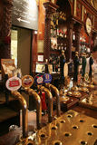 Inside view of a english pub Stock Photography