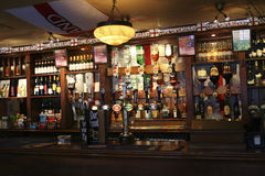 Inside view of a english pub Royalty Free Stock Image