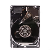 Inside view of hard disk computer Stock Image