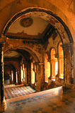 Inside view of a historical palace. Stock Image