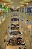 Inside view of large Ipoh Parade shopping mall Perak Malaysia. Ipoh, Malaysia - June 2, 2017: An photo of the Ipoh Parade shopping mall taken from one of the Stock Photos