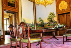 Inside view of magnificent Phillipsruhe Castle in Hanau, near Frankfurt am Main, Germany Royalty Free Stock Photo