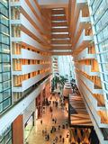 Inside view of Marina Sand Bay hotel in Singapore Stock Photos