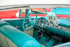 classic car interior dice stock photos images pictures 33 images. Black Bedroom Furniture Sets. Home Design Ideas