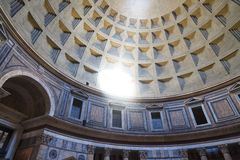 Inside View of Pantheon Stock Photography