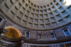 Inside View of Pantheon Royalty Free Stock Photos
