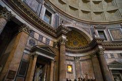 Inside View of Pantheon Stock Photos