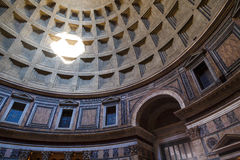 Inside View of Pantheon Royalty Free Stock Photo