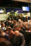 Inside view of Paris underground Stock Photo
