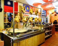 Inside view of restaurant in Jiufen, Taiwan Royalty Free Stock Image