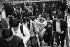 Inside view of Seoul Metropolitan Subway Stock Photos