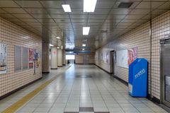 Inside view of Shinbashi station in Tokyo Stock Images