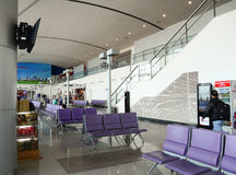 Inside view of Waiting Room at Tan Son Nhat airport, Saigon, Vietnam Royalty Free Stock Image