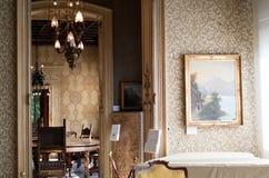 Inside Villa Monastero Royalty Free Stock Image