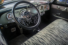 Inside of a Vintage Buick car Royalty Free Stock Images